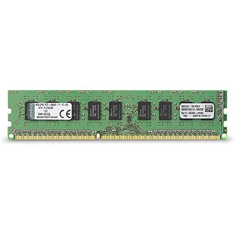 Kingston KTH-PL316E/8G - Memoria RAM de 8 GB (DDR3, 1600 MHz, 240-pin)