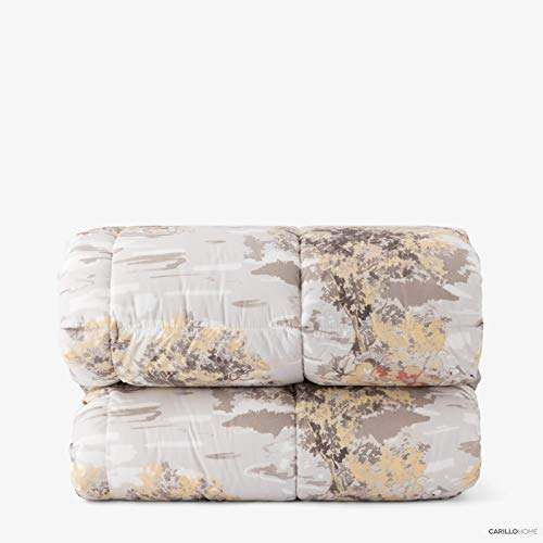 Ligne Or Couette Super Soft Country 2 Places Taupe