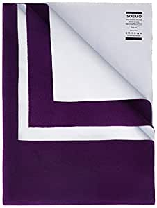 Amazon Brand - Solimo Baby Water Resistant Large Size Dry Sheet (140cm x 100cm, Plum Red)