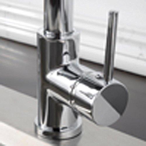 ssby–Teleskop Spüle in der Küche, Roll-Waschbecken Armatur Wasserhahn Hot und Cold, kann gestreckt werden mit Spray Guns, Dusche Düsen, B (Dusche Roll-in)