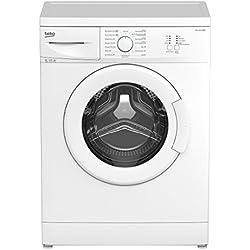 Beko WML 15106 MNE+ Waschmaschine FL / A+ / 168 kWh/Jahr / 1000 UpM / 9900 L/Jahr / 5 kg / weiß / Nur 41 cm tief