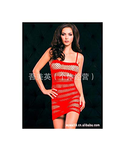 d41ef2b9e0 EXLEXD& Sexy Lingerie Baby Dolls Sexy Underwear Women Exotic Apparel  Dresses Lace Transparent Intimates Hot Nightgown Costumes Red One Size