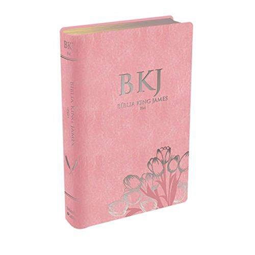 Bíblia King James Fiel - Rosa