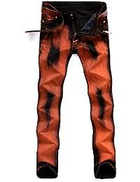 6dd73d041 Amazon.es: Naranja - Vaqueros / Hombre: Ropa