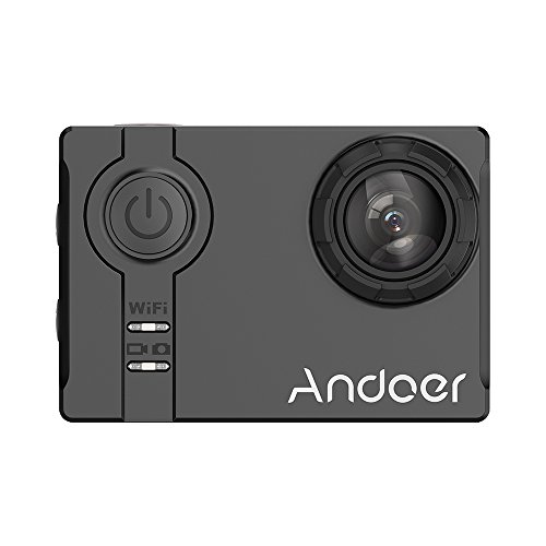 Andoer-AN7000-4K-1080P-120fps-720P-240fps-HD-Adoptar-para-A12S75-16MP-WiFi-Anti-sacuda-Impermeable-60m20-LCD-Lente-Negro