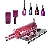 1.6-5.9 Pulgadas Cortador de Botellas de Vidrio Máquina de Corte de Botellas de Acero Inoxidable Ajustable Herramienta de Corte de Botellas de Cerveza de Vino de Bricolaje