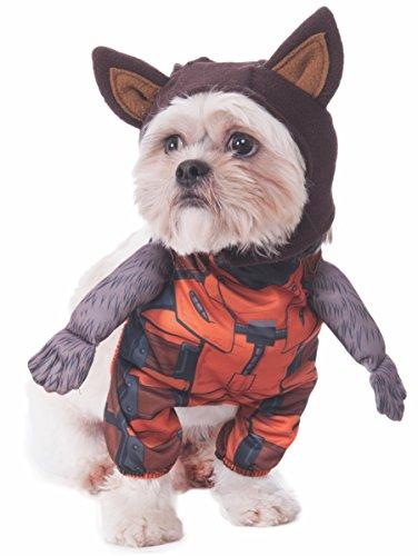 (Rubie 's Marvel Walking Rocket Raccoon Pet Kostüm, Mittel)