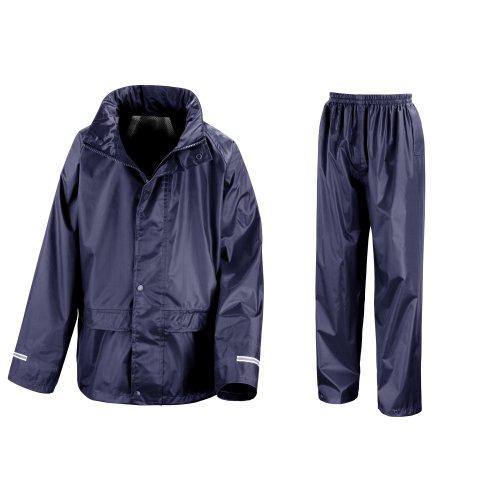 Result Core Regenanzug für Kinder (11-12-jährige) (Marineblau) 11-12 Jahre (144-152 cm),Marineblau (Größe 12 Jungen Winter Mantel)