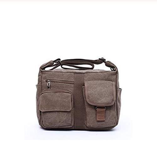 Paket Männer Segeltuchtasche Handtasche Männer Frauen Schräge Umhängetaschen Umhängetasche Umhängetaschen Reisehandtasche -