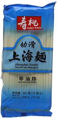 Sau Tao Shanghai Noodles, 340 g (Pack of 6)