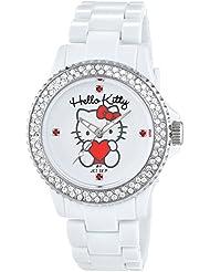 Hello Kitty Mädchen-Armbanduhr Uto White Analog Quarz Plastik JHK9904-18