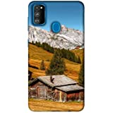 Amazon Brand - Solimo Designer Hut 3D Printed Hard Back Case Mobile Cover for Samsung Galaxy M30s