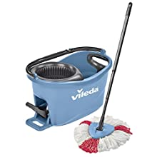 Vileda EasyWring and Clean Box Cleaning Kit, Plastic, blue, 29.6 x 48,6 cm 2 Units