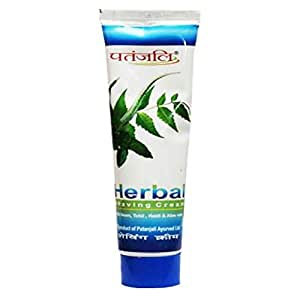 PATANJALI Plastic Herbal Shaving Cream
