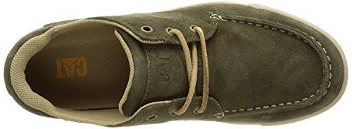 Caterpillar Recurrent, Cheville Chaussures Lacées Homme Vert (Burnt Olive)