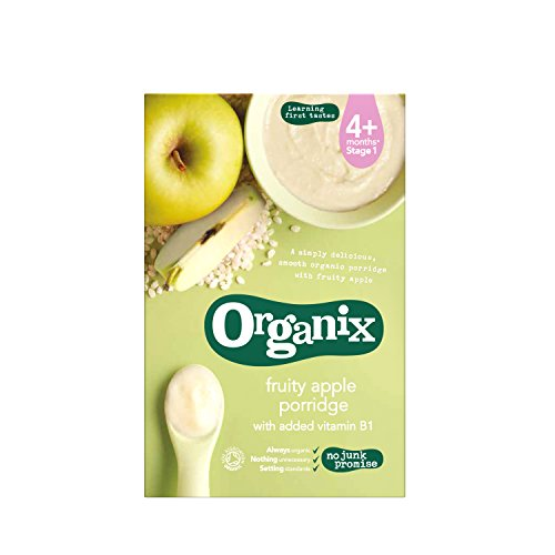 Organix - Stage 1 from 4 months - Organic Fruity Apple Porridge - 120g