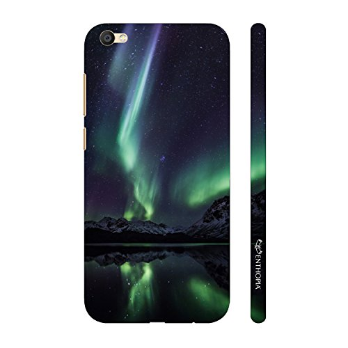 Enthopia Designer Hardshell Case Northern Lights Back Cover for Gionee Elife S7  available at amazon for Rs.195
