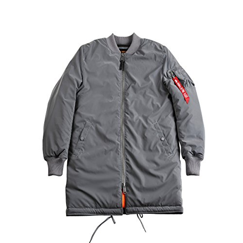 Alpha Industries Jacke MA-1 Coat Reflective Silver