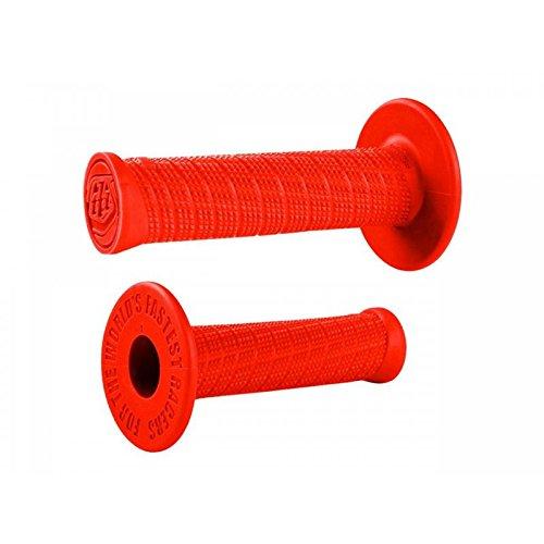 Preisvergleich Produktbild Griffe Lenker Cross MX ODI Troy Lee Design extra weich rot Feuer