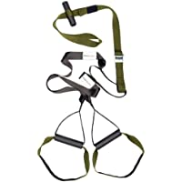 Variosling® Original Sling Trainer Modell 2018 Schlingentrainer mit DVD Übungs-Poster + Sicherheitshinweise für Suspension Trainer Training