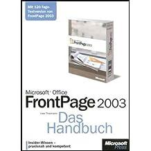 Microsoft Office FrontPage 2003, Das Handbuch, m. 2 CD-ROMs