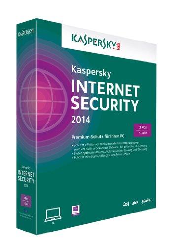 Kaspersky Internet Security 2014 - 3 PCs