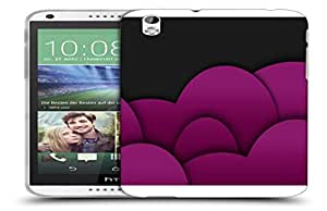 Snoogg Pink Balloons Designer Protective Back Case Cover For HTC 816