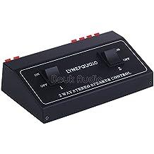 nobsound de 1de dans 2OUT Amplifier Speaker passif Audio Commutateur–2Channel Audio Stéréo Distributeur Speaker Selector