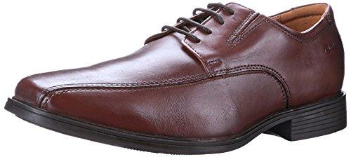 Clarks Tilden Weg Oxford Brown Leather