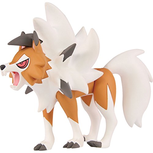 Pokemon Moncolle EX ESP_15 Lycanroc Dusk Form (Wolwerock Zwielichtform)