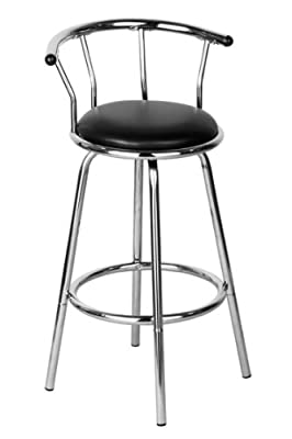 Premier Housewares Bar Stool, 96 x 53 x 45 cm, Cream_Parent