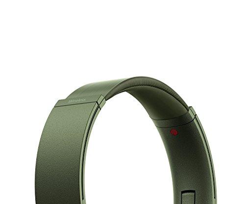 Sony MDR-XB950N1 kabelloser Kopfhörer mit Geräuschminimierung (Noise Cancelling, Extrabass, NFC, Bluetooth, faltbar) grün - 10