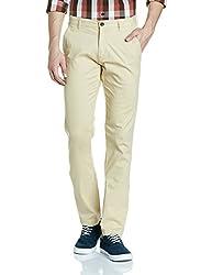 Arrow Mens Casual Trousers (8907538827814_ASUTR2469_32W x 34L_Beige)