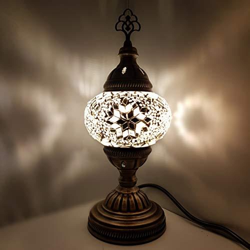 SPECIAL - De turquía / marroquí Cristal Escritorio Lámpara De Mesa 29cm - TREE_W1
