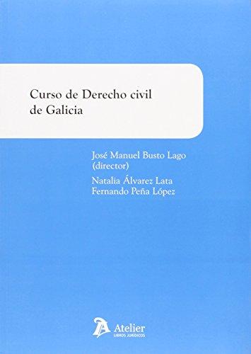 Curso De Derecho Civil De Galicia (Manuales) por Busto Lago José Manuel
