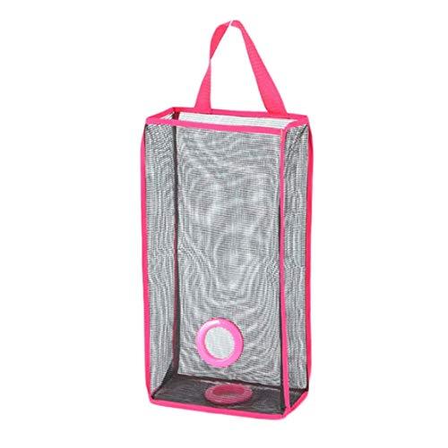 KPYjx Skillful 1X Wandbehang Netz Badezimmer Küche Müll Beutel Aufbewahrung Verpackung Einkaufstasche Leere für Heim Dekoration - Rose Queen Küche Queen