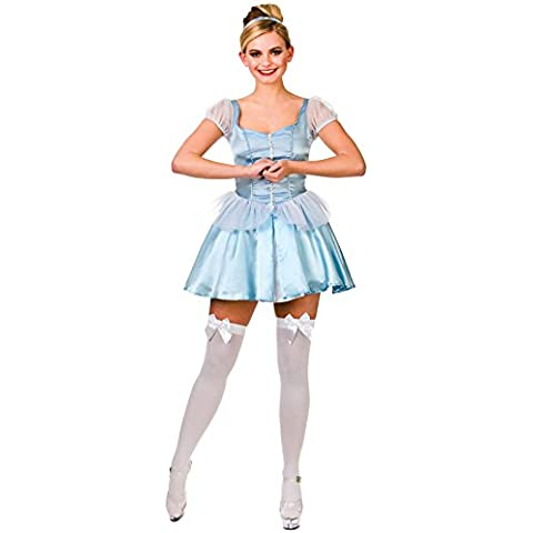 Cute Cinders - Adult Costume Lady: M