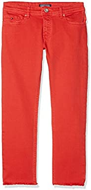Tommy Hilfiger Lana Straight Cropped Icpst Jeans para Niñas