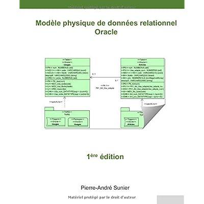 Modèle physique de données relationnel: Oracle
