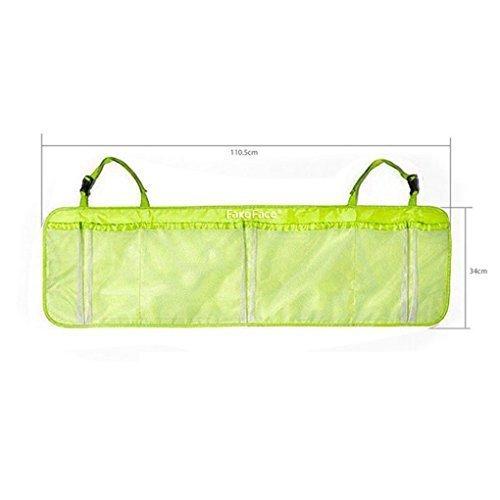 FakeFace Oxford Gewebe Netz Rücksitztasche im Kofferraum Organizer Multi-Tasche Reise Aufbewahrungstasche Hohe Kapazität 110 x 34 CM