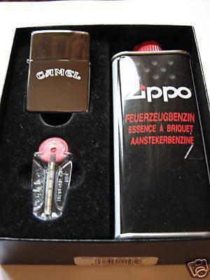 Zippo Feuerzeug Camel Geschenk-Set