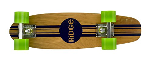 Ridge Retro Skateboard Mini Cruiser, grün, 22 Zoll, WPB-22