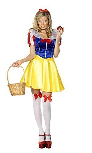 cess Schneewittchen -Märchen -Kostüm -Abendkleid -Kostüme Spiel ()