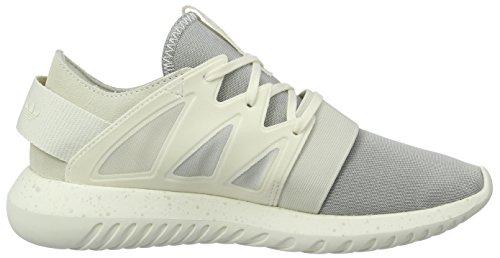 adidas Tubular Viral, Scarpe da Ginnastica Basse Donna Bianco (Chalk White/Chalk White/Core White)
