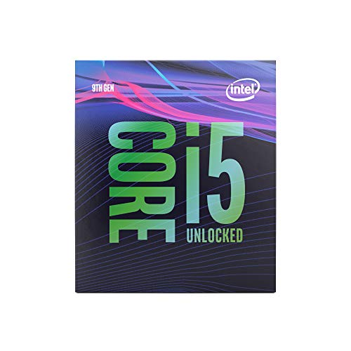 Intel Core i5-9600K processore 3,7 GHz Scatola 9 MB Cache intelligente