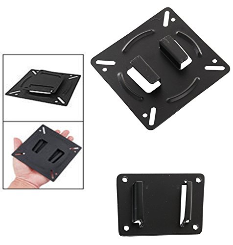 GShop High Quality Wall Mount Arm Fixed Stand Meet VESA Standard 75*75 / 100*100mm Stand for TV LCD LED Monitor 10 - 27
