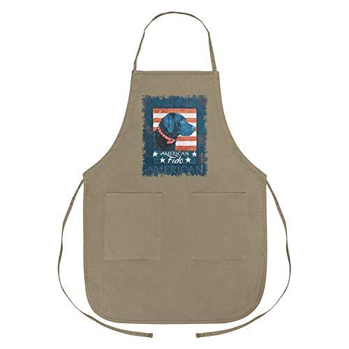 GRAPHICS & MORE American Fido Kochschürze mit Taschen (Retriever-schürze)