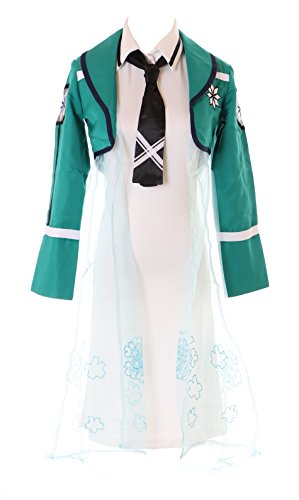 Kawaii-Story MN-32 The Irregular at Magic high School Miyuki Shiba Kleid Jacke 4-TLG. Cosplay Set Kostüm - Kostüm Für High School