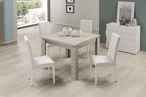 Tavoli Da Cucina Design.Casa E Cucina Homcom Tavolo Multiuso Design Pieghevole Con 4