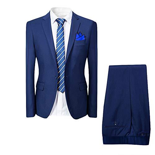 Suit suit man 2 pieces jacket vest trousers suit Western style